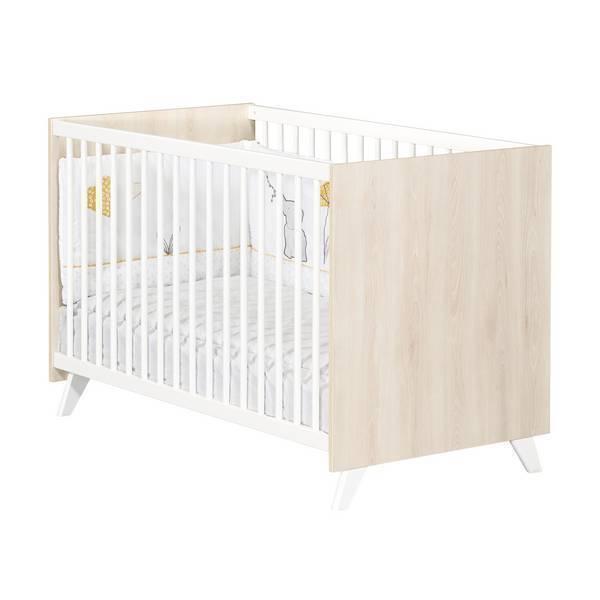 Baby Price - Lit bébé Scandi Naturel 120x60cm