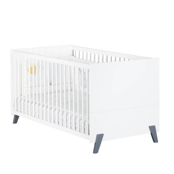 Baby Price - Little big bed évolutif Joy Gris 140x70cm