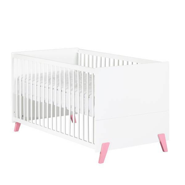 Baby Price - Little big bed évolutif Joy Rose 140x70cm