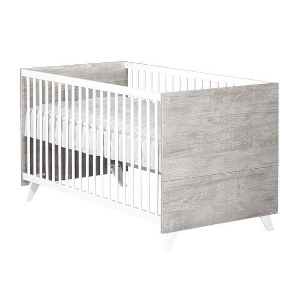 Baby Price - Little big bed évolutif Scandi Gris 140x70cm