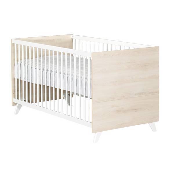 Baby Price - Little big bed évolutif Scandi Naturel 140x70cm
