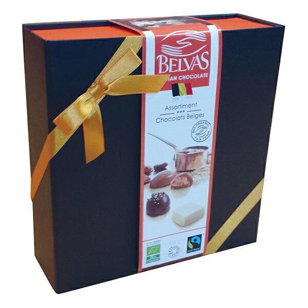 Belvas - Coffret luxe chocolats belges 400g