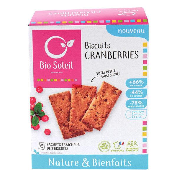 Bio Soleil - Biscuits nature & bienfaits au Citron 130g