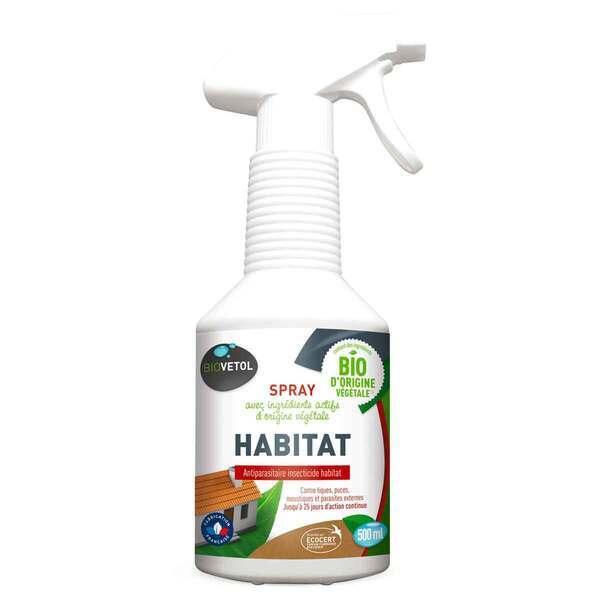 Biovetol - Lotion insecticide Habitat bio 500ml