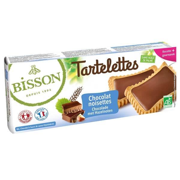 Bisson - Tartelettes chocolat noisettes 150g