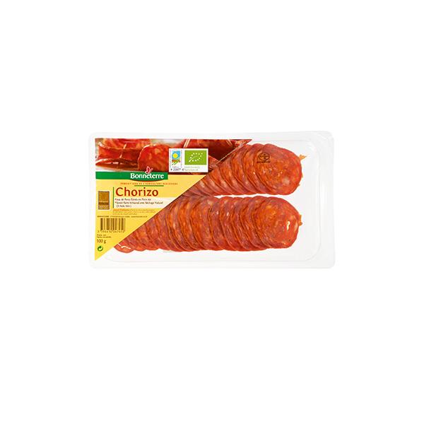 Bonneterre - Chorizo en tranches 100g