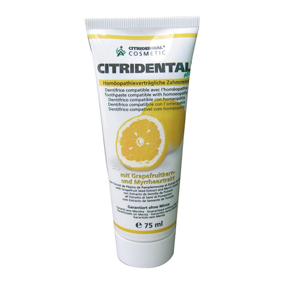 CitroBiotic - Citridermal dentifrice crème - Tube de 75ml