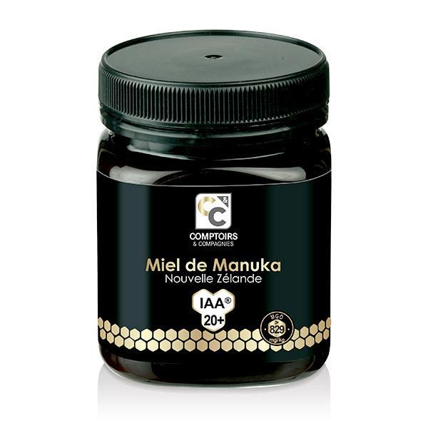Comptoirs et Compagnies - Miel de Manuka IAA 20+ (MGO 829) - Pot de 250g
