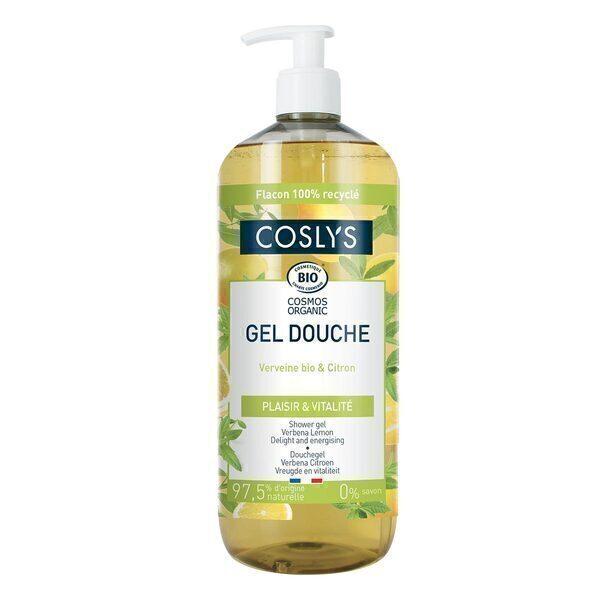 Coslys - Gel douche verveine citron 1L
