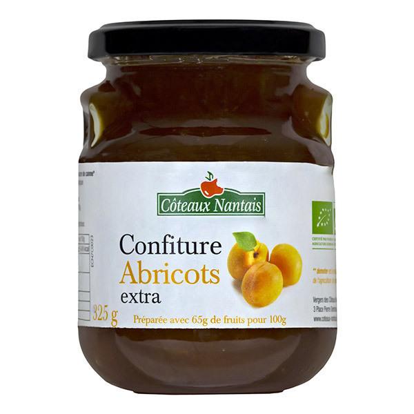 Côteaux Nantais - Confiture d'abricots extra  325g
