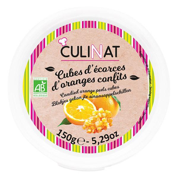 Culinat - Écorces confites Orange Bio 150g
