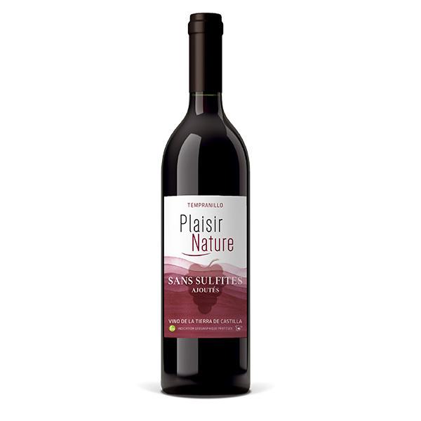 Cuvée Plaisir et Désir - Plaisir Nature sans sulfites ajoutés - Rouge 75cl