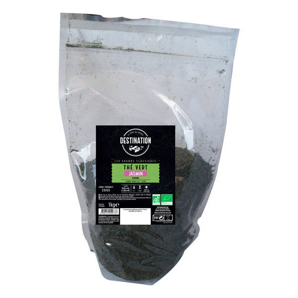 Destination - Thé vert au jasmin 1kg
