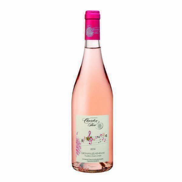 Domaine du Chardon Bleu - Vin rosé Cuvée Ritournelle 75cl