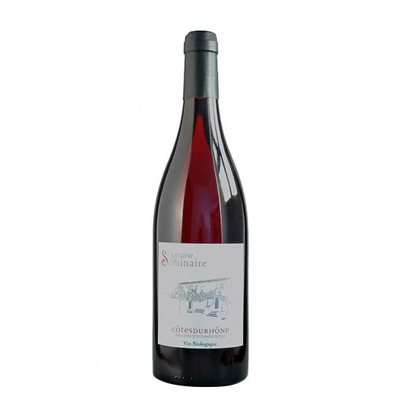 Domaine du Séminaire - AOP Côtes du Rhône faible en sulfites - Rouge 75cl