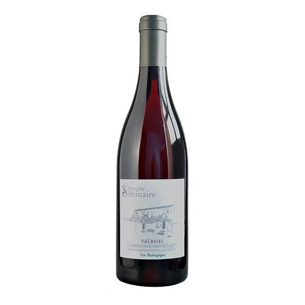 Domaine du Séminaire - Valréas AOP Côtes du Rhône faible en sulfites - Rouge 75cl