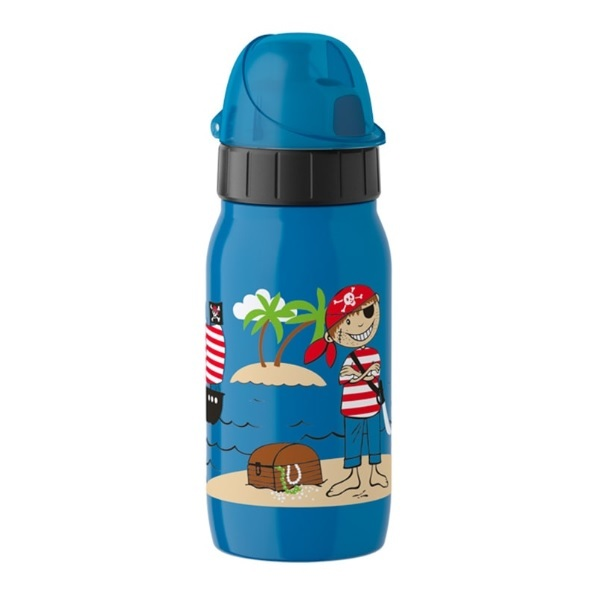 Emsa - Gourde enfant isotherme Drink2Go Pirate 35cl