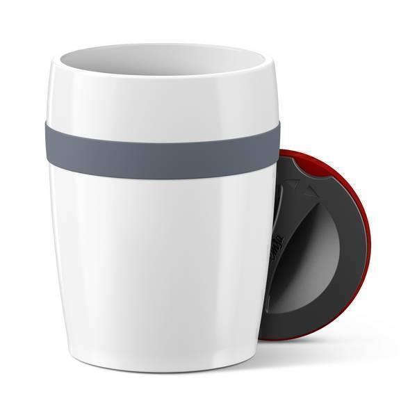 Emsa - Gobelet Travel cup Ceramics Gris 20cl