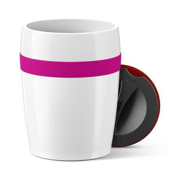 Emsa - Gobelet Travel cup Ceramics Rose 20cl