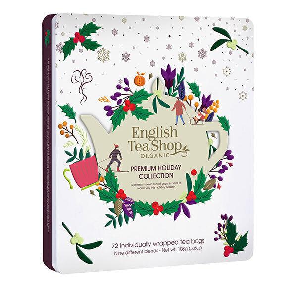 English Tea Shop - Coffret Collection Holiday Mauve de thés & infusions bio