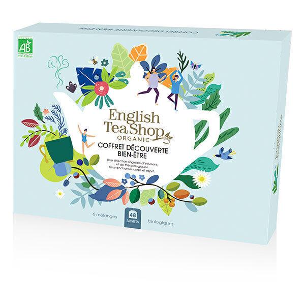 English Tea Shop - Coffret Découverte Bien-être d'infusions & thé bio