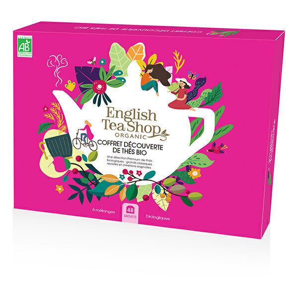 English Tea Shop - Coffret Découverte thés & infusions 6 mélanges 48 sachets