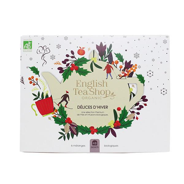English Tea Shop - Coffret Délices d'hiver 6 mélanges de thés & infusions 48 sac
