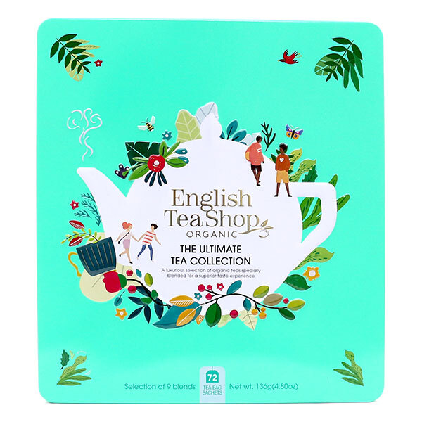 English Tea Shop - Coffret métal Ultimate 9 mélanges thés & infusions 72 sachets