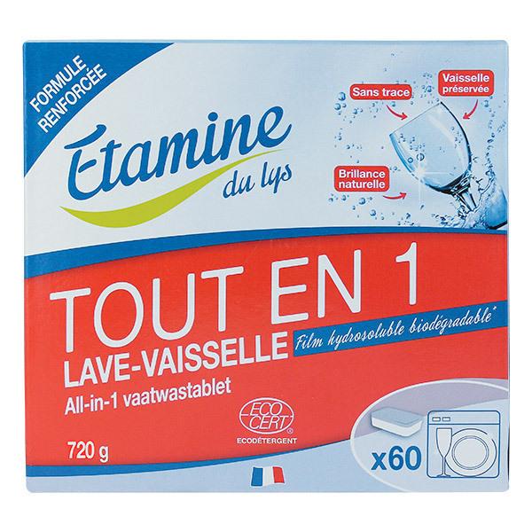 Etamine du Lys - Tablettes lave-vaisselle Tout en 1 X60