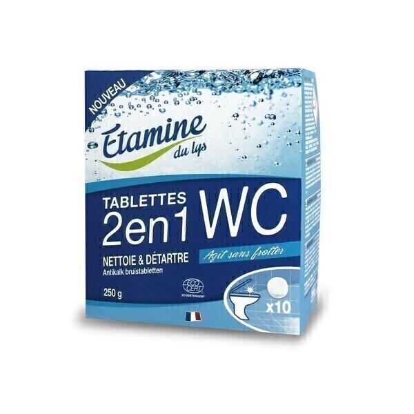 Etamine du Lys - Tablettes WC 2 en 1 X10