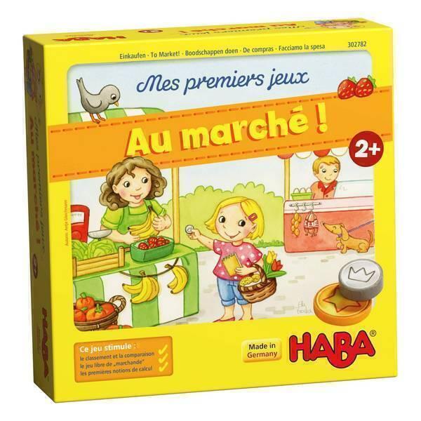 Haba - Mes premiers jeux: Au marche ! - Des 2 ans