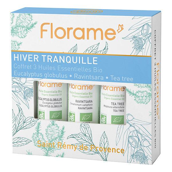 Florame - Coffret huiles essentielles Hiver Tranquille 3X10ml