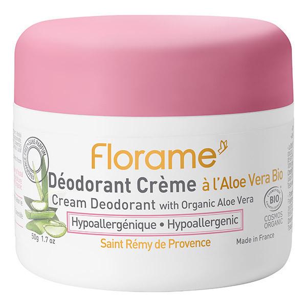 Florame - Déodorant Crème hypoallergénique 50g