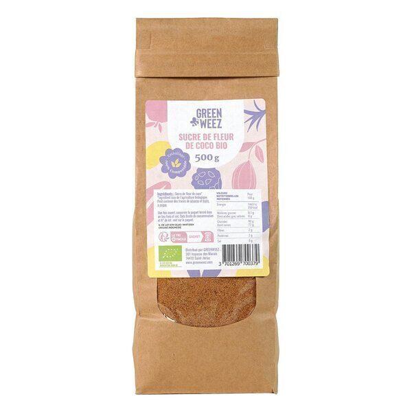 Greenweez - Sucre de fleur de coco Bio 500g