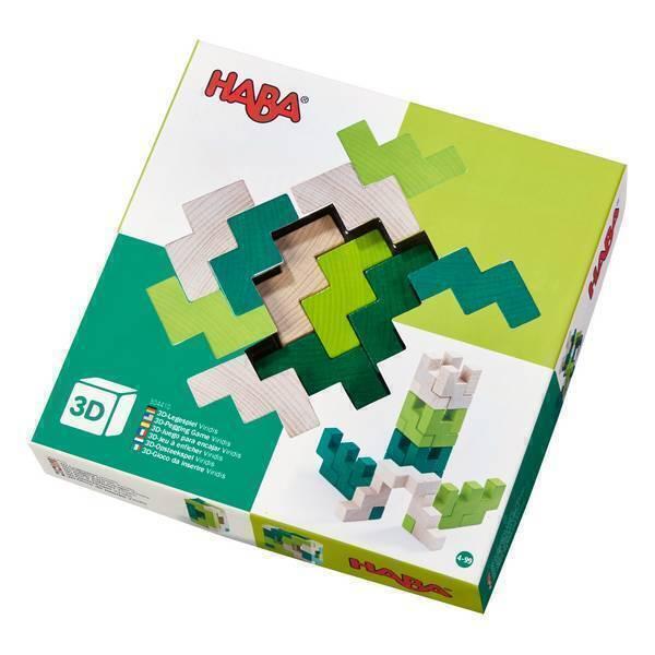Haba - Jeu d'assemblage en 3D Viridis - Dès 3 ans