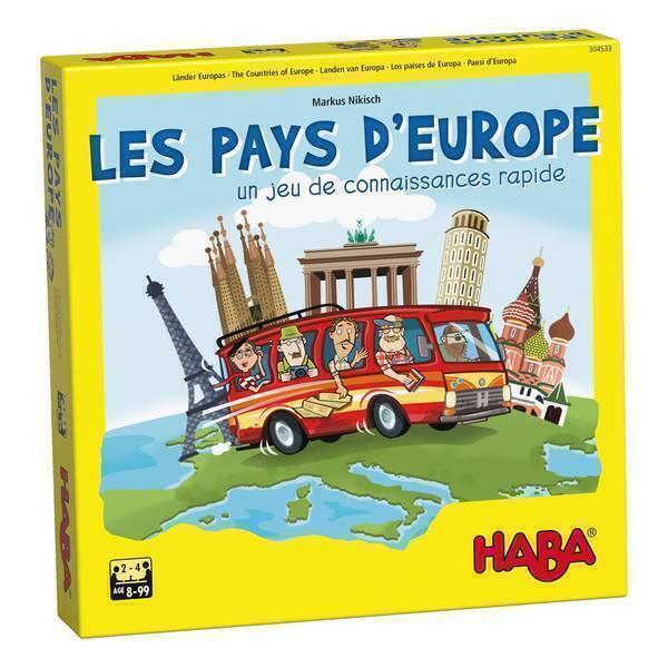 Haba - Les pays d'Europe - Dès 8 ans