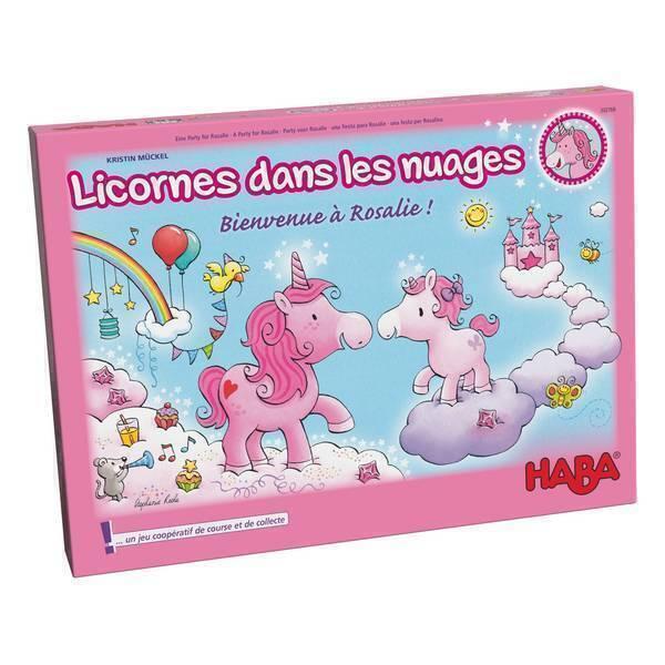 Haba - Licornes dans les nuages - Bienvenue à Rosalie ! - Dès 4 ans