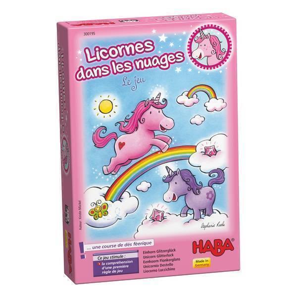 Haba - Licornes dans les nuages - Dès 3 ans