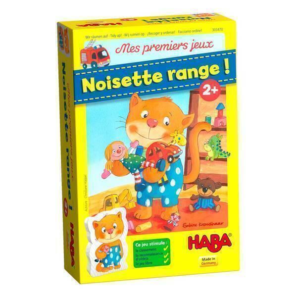 Haba - Mes premiers jeux: Noisette range ! - Dès 2 ans