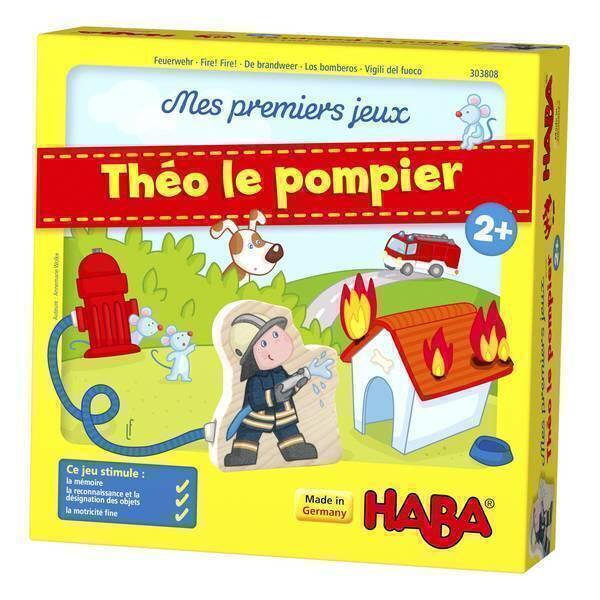 Haba - Mes premiers jeux : Théo le pompier - Dès 2 ans