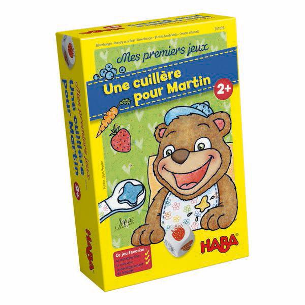 Haba - Mes premiers jeux: Une cuillère pour Martin - Dès 2 ans