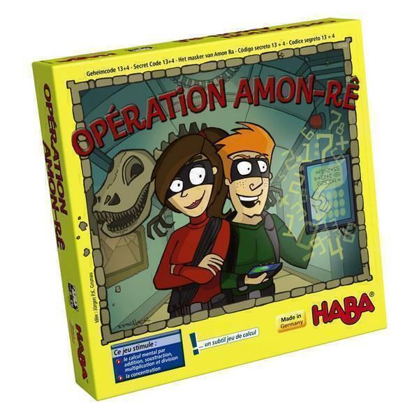 Haba - Opération Amon-Rê - Dès 8 ans