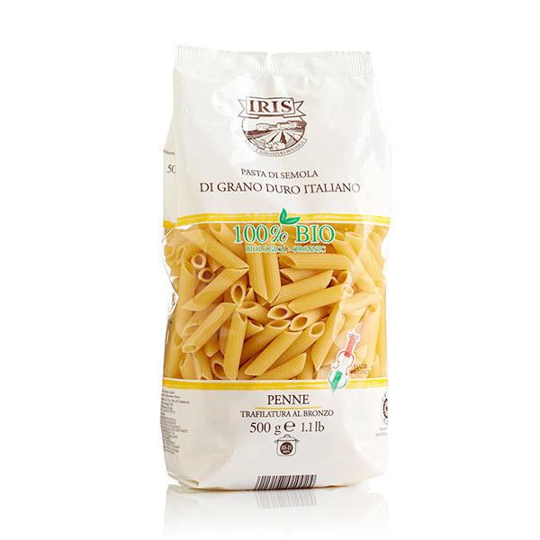 Iris Bio - Pennes blanches Pasta di Semola 500g