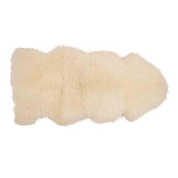 Kaiser - Peau d'agneau épaisseur 1,5 cm - 145x65 cm Natural white
