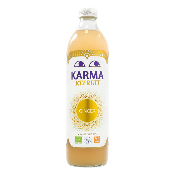 Karma - Kéfir Gingembre 500ml