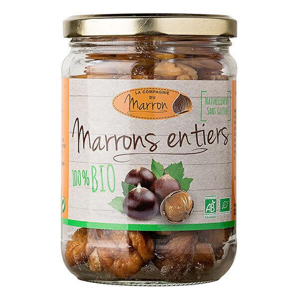 La Compagnie du Marron - Marrons entiers cuits 320g