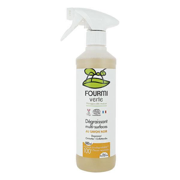 La Fourmi Verte - Spray dégraissant multi-surfaces au savon noir 500ml