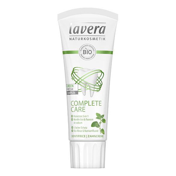Lavera - Dentifrice complete care à la menthe et fluorure 75ml