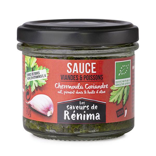Les Saveurs de Rénima - Chermoula pour viandes, poissons non pimentée 90g