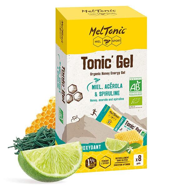 Meltonic - Pack gels énergétiques Tonic' Gel Antioxydant 8 x 20g